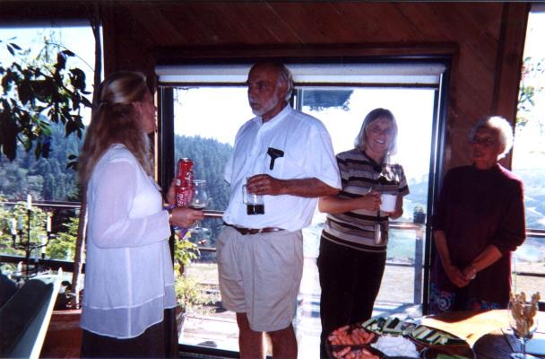 Sabra, Jim, Cheryl & June.
